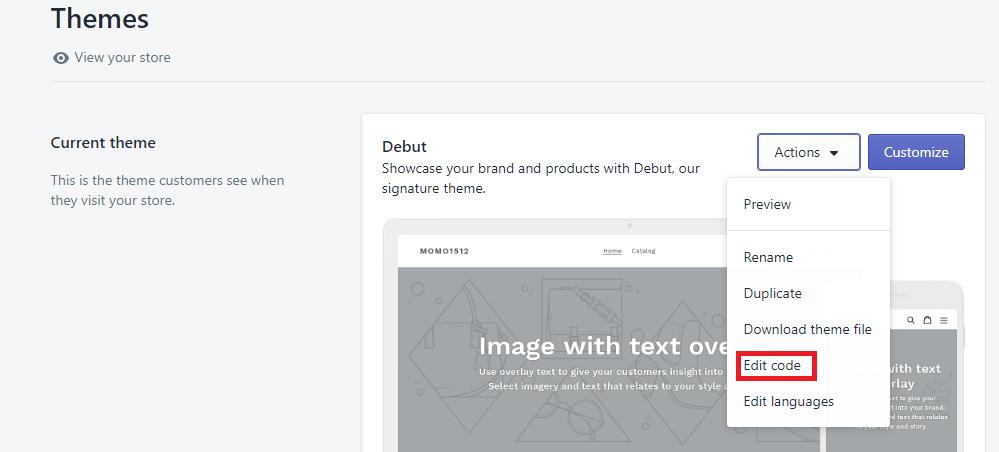 הטמעת קוד מעקב באתר Shopify