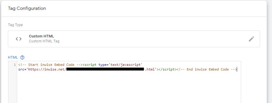 התקנת קוד מעקב - Tag Manager