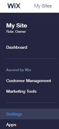 הטמעת קוד מעקב באתר WIX